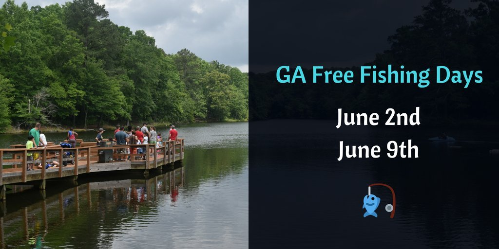 2018 Georgia Free Fishing Days (GADNR)