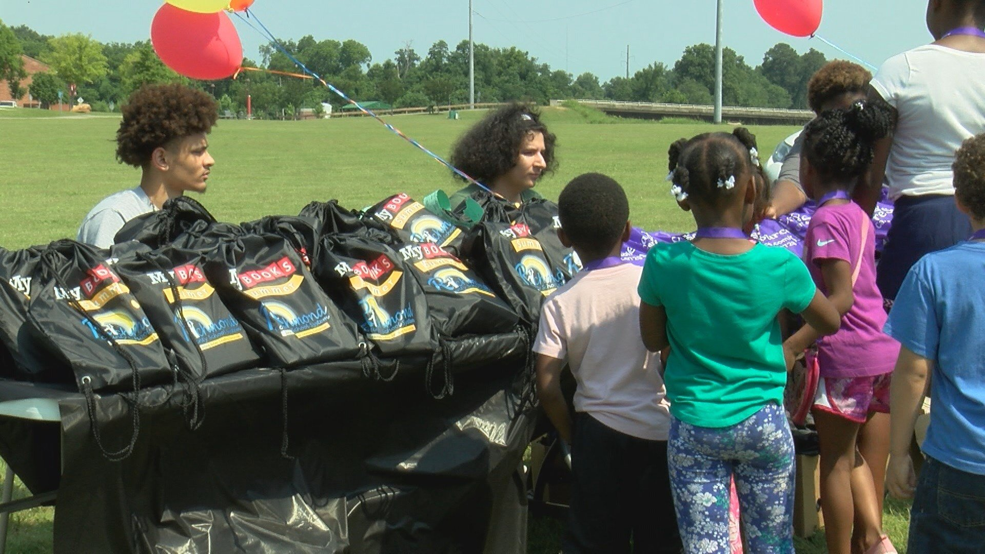 The United Way held their second annual Book Bash earlier today, alongside other organizations.  Over 4,000 books were collected in around 6 months to give away to kids of all ages. (Source: WFXG)