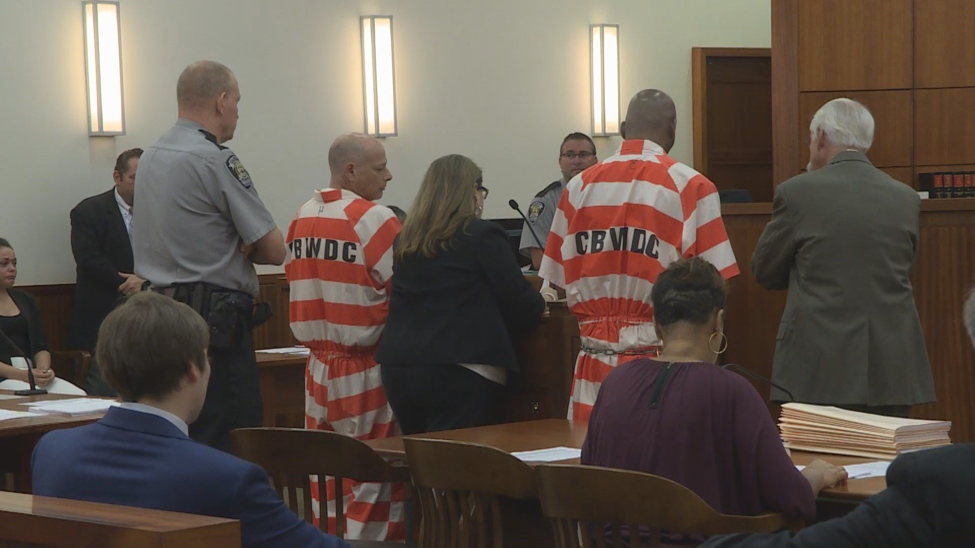 Keith Kearney and Maurice Jenkins are charged with the murder of Joaquin Figueroa. They were denied bond today. (Source: WFXG)
