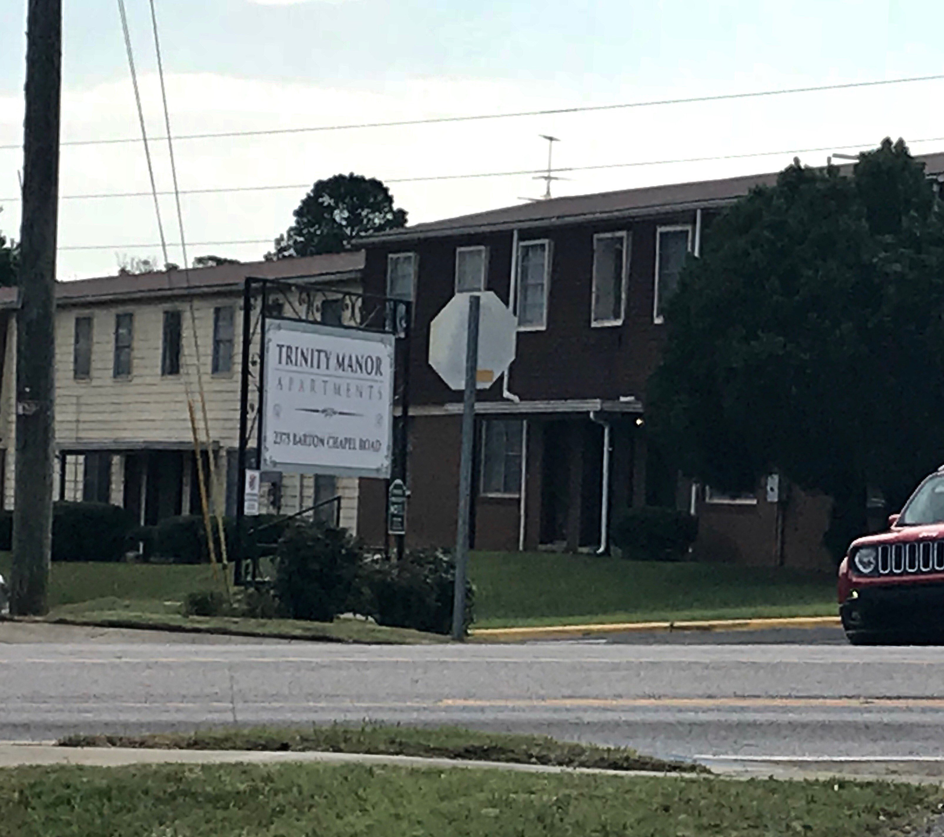 Trinity Manor Apartment Complex, where shots rang out on June 7th just before midnight. (Source: WFXG)