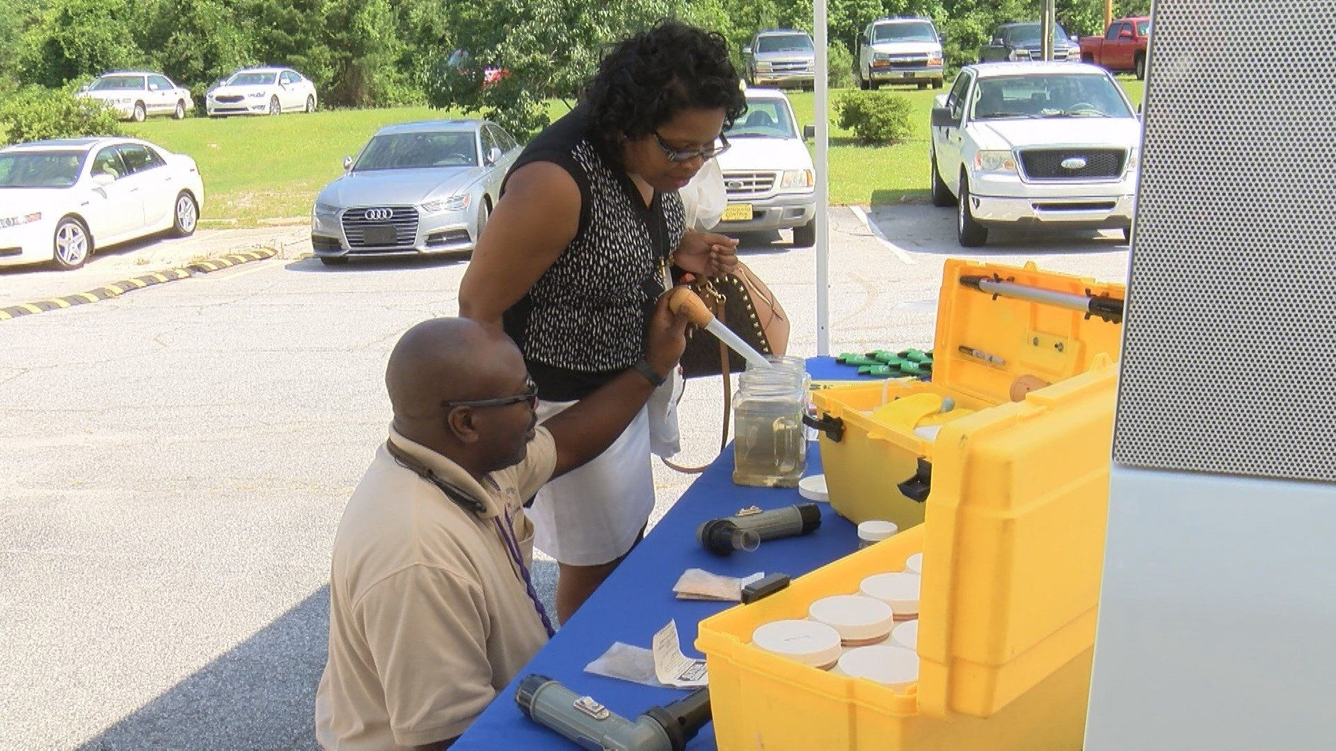 Official's with the Richmond County Mosquito Control spoke to those in Hephizbah about what they can do to prevent mosquitoes now that summer is right around the corner. (WFXG)