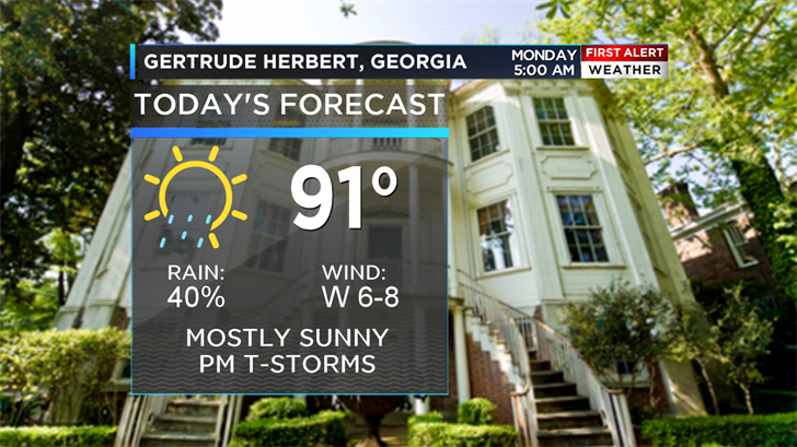 6.11.18 Weather on the Road - Augusta (WFXG)