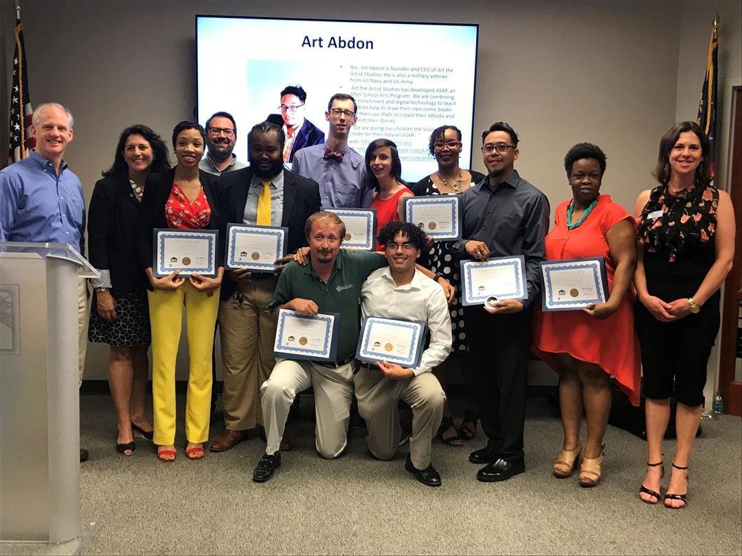 Nine CSRA entrepreneurs trained by theClubhou.se converged at the Augusta Metro Chamber of Commerce to pitch their startups to the business community