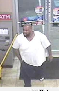 Suspect 1, wanted for theft of construction materials (Source: Columbia County Sheriff's Office)