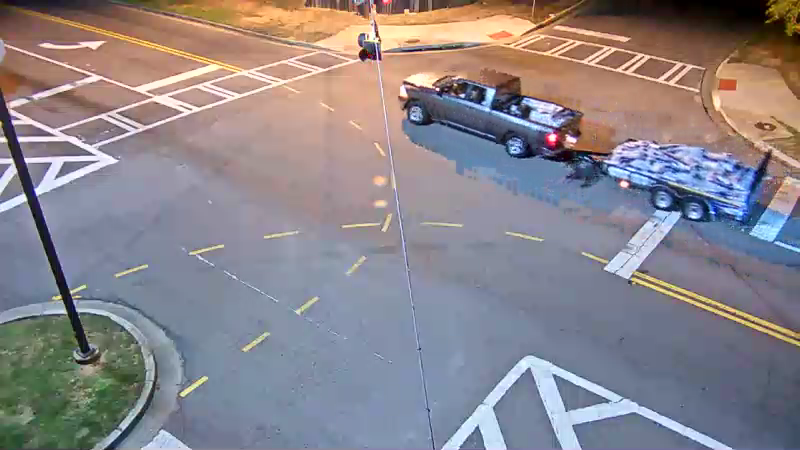 Vechicle used in theft of construction materials from a construction site (Source: Columbia County Sheriff's Office)