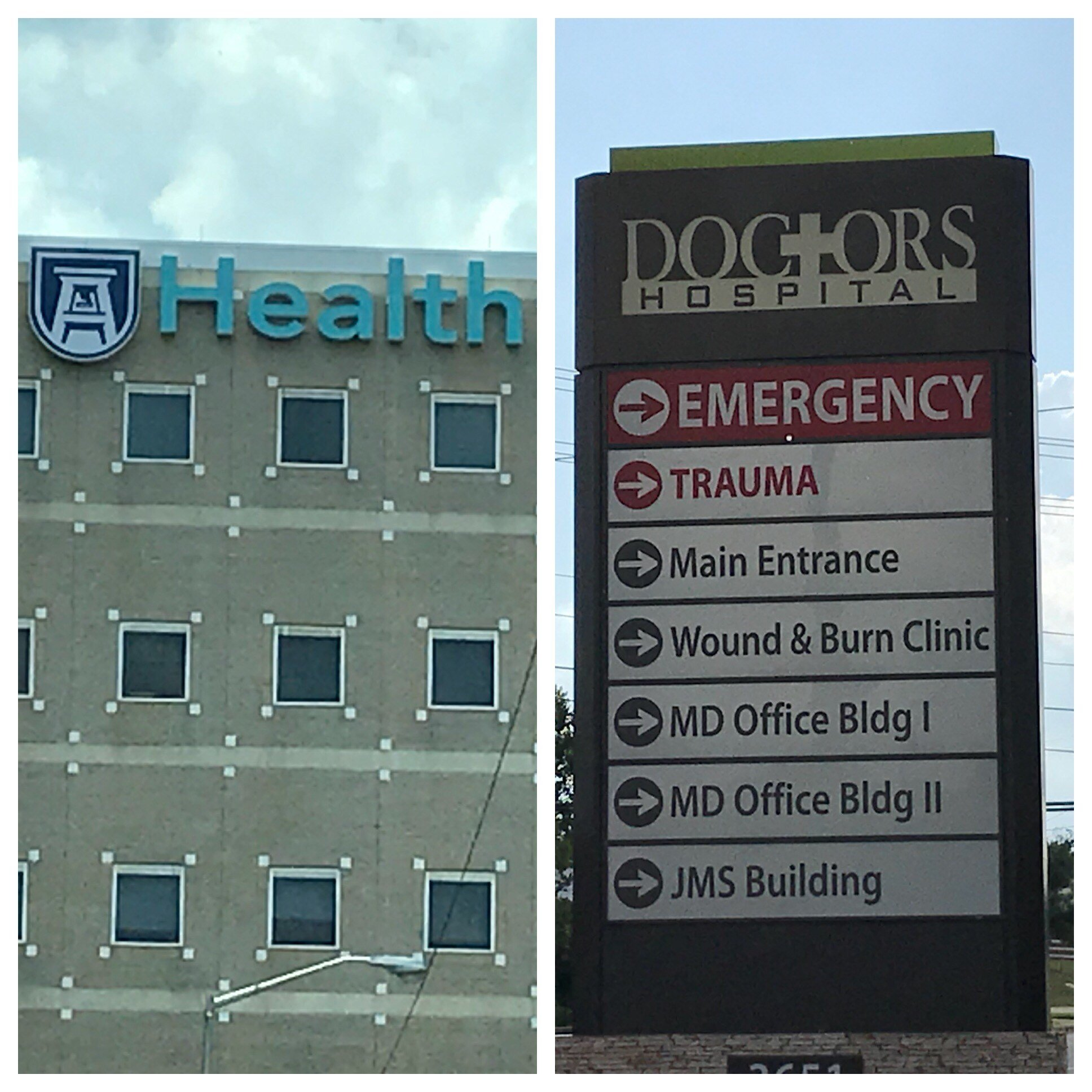 Augusta University Medical Center and Doctor's Hospital (Source: WFXG)