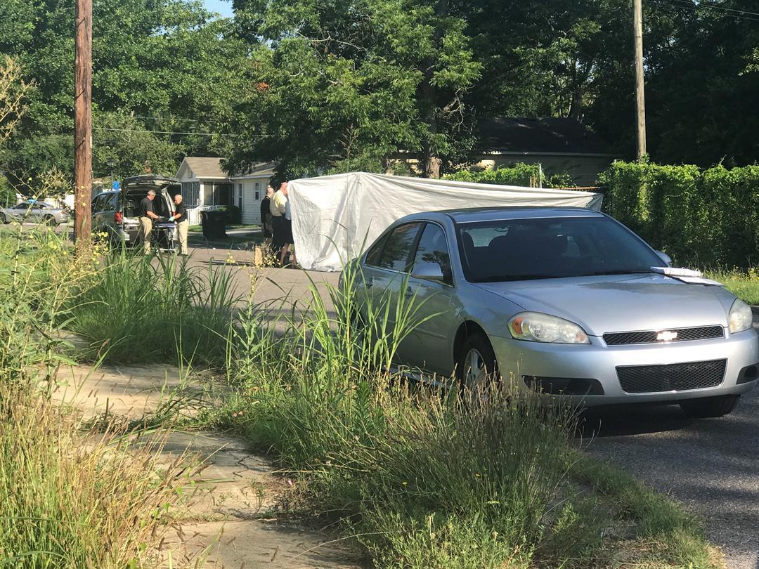 Homicide near downtown Augusta 6/19/18 (WFXG)