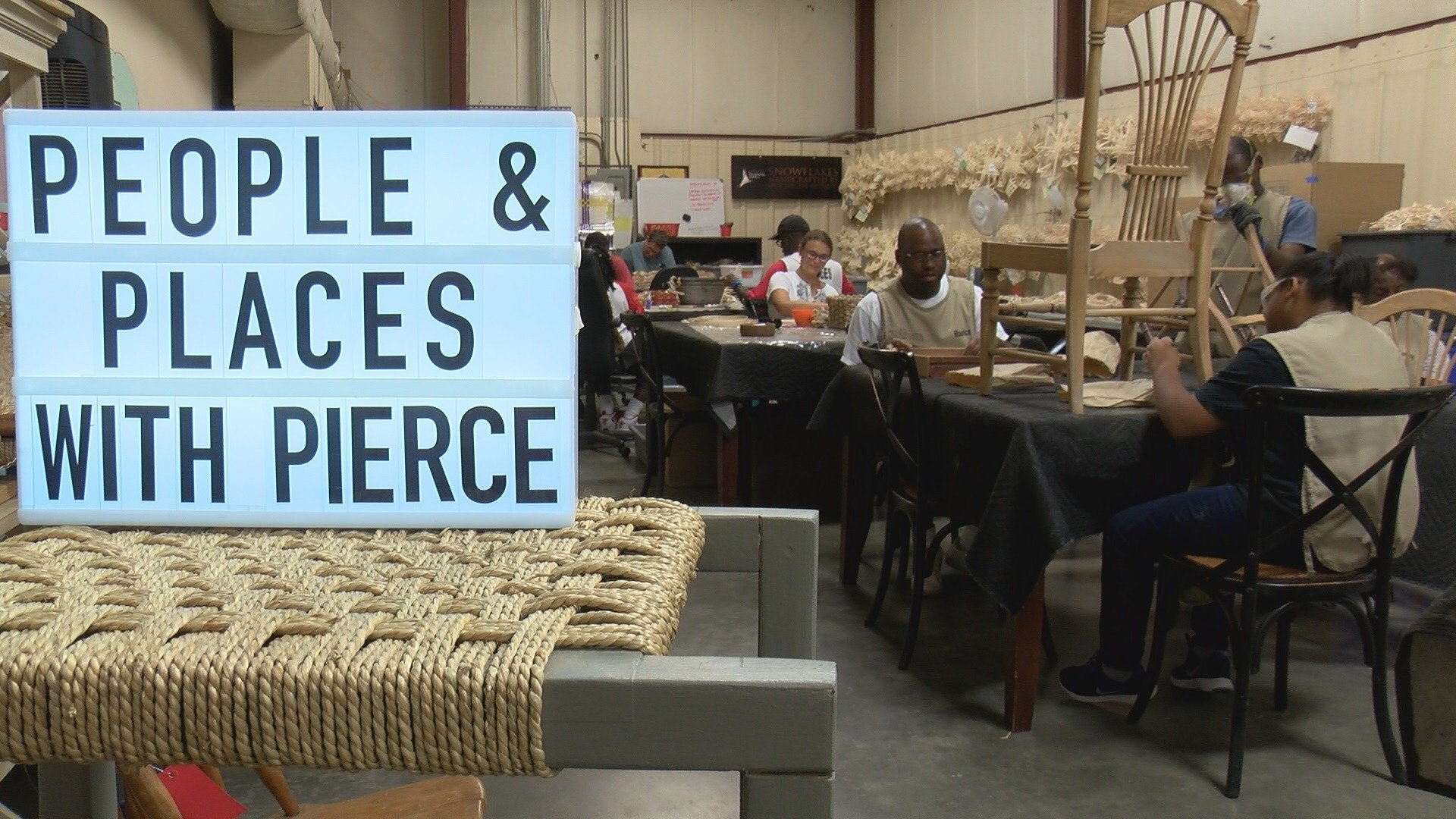People & Places with Pierce: Augusta Training Shop (WFXG)