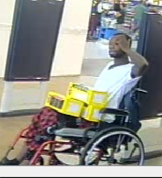 Xavier S. Allen, who allegedly stole fireworks from the Walmart on Bobby Jones (Source: Columbia County Sheriff' Office)
