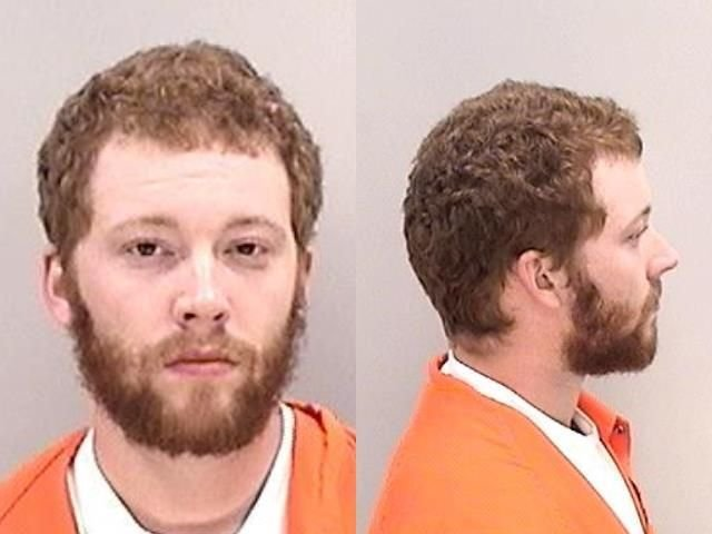 Justin Foss Sr., 27, was arrested after his son was accidentally shot