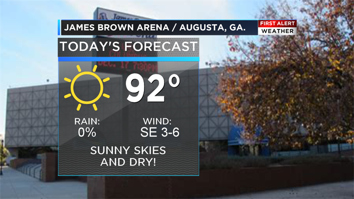 7.9.18 Weather on the Road: Augusta (WFXG)