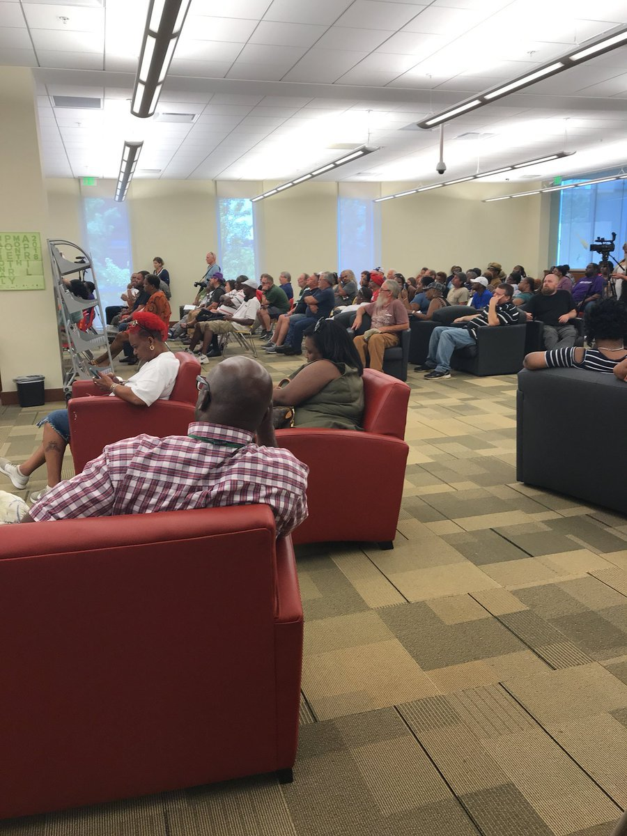Richmond County residents gathered to learn about the Records Restriction Summit (Source: WFXG)