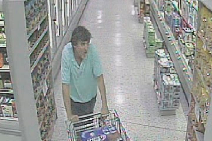 Surveillance photo from the Publix (Source: Columbia County Sheriff's Office)