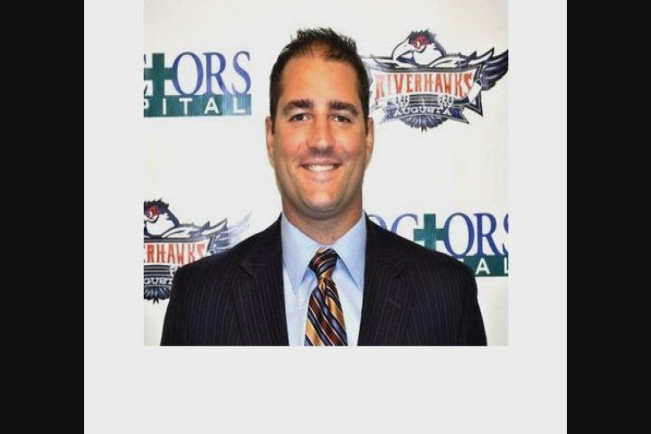 Coach Rob Miller/Source: Augusta River Hawks