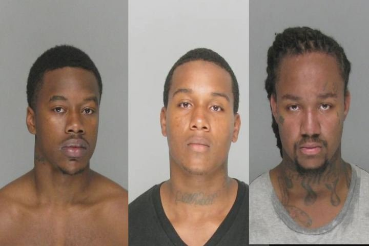 Three suspects / Source: Richmond County Sheriff's Office