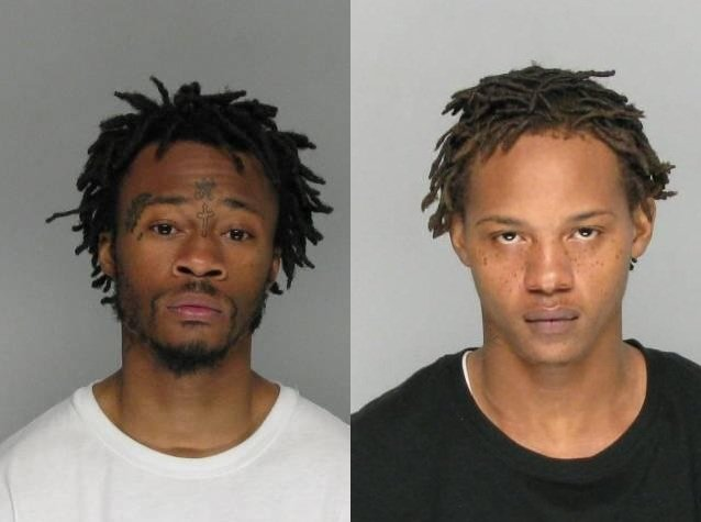 Source: RCSO. Harris is pictured on the left; Nixon is on the right