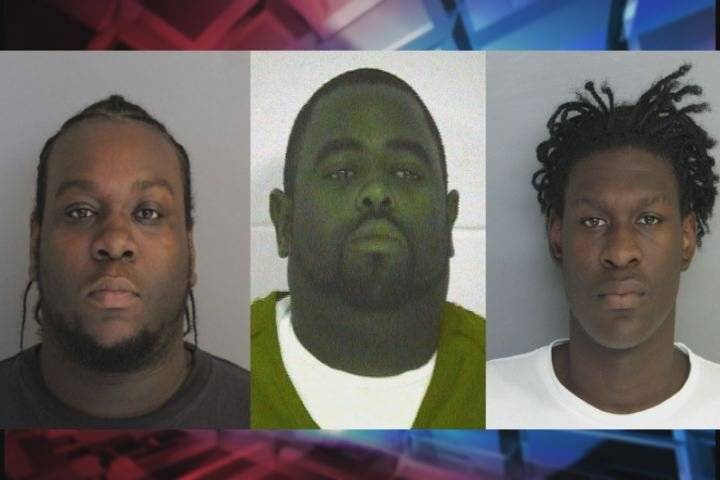 L to R: Orlando Williams, Elton V. Williams and Brandon O. Williams were issued arrest warrants on charges of unlawful carrying of a pistol. (Source: ACSO)