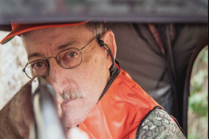 Aiken resident and former SRNS employee Rex Lutz during last year's Deer Hunt for Mobility Impaired Hunters at SRS. Lutz retired in 2009 due to physical issues with multiple sclerosis. (Source: SRS)
