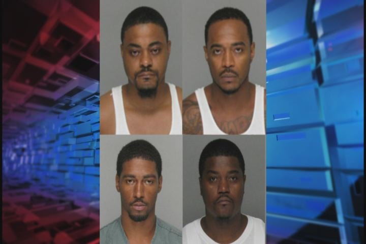 These four men were arrested in Richmond County. (Source: RCSO)