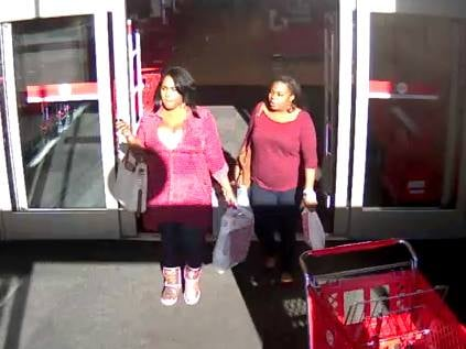 Deputies say these two women used stolen credit card info to make purchases. (Source: Columbia Co. Sheriff's Office)