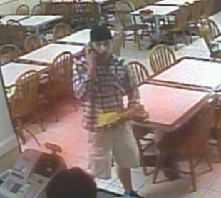 Deputies say this man robbed Golden Garden Korean Restaurant. (Source: RCSO)