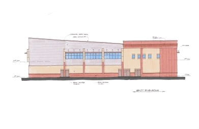 The city of Augusta plans to build this new IT center at 527 Telfair St. (Source: AHPC)