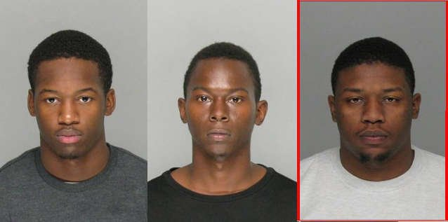 Quontavious Darlington and Mishon Robinson are in custody. Lavarius Kentrez Beasley is wanted. (Source: RCSO)