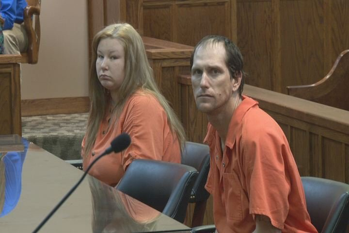 Samantha Janes Scott and her husband Randy Scott are charged in the murder of her father. (Source: File photo/WFXG)