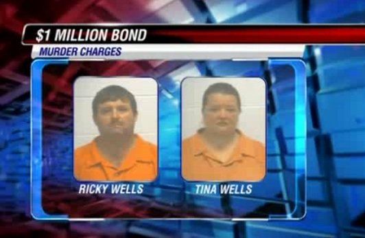 Bond for Ricky Wells and Tina Wells was set at $1 million each in February. (Source: McDuffie Co. Sheriff's Office)