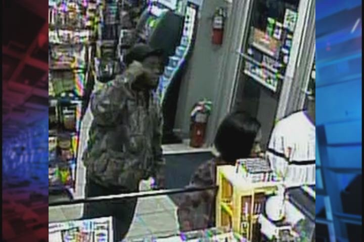 Deputies say this man stole an iPhone from the counter at a BP gas station. (Source: Richmond Co. Sheriff's Office)