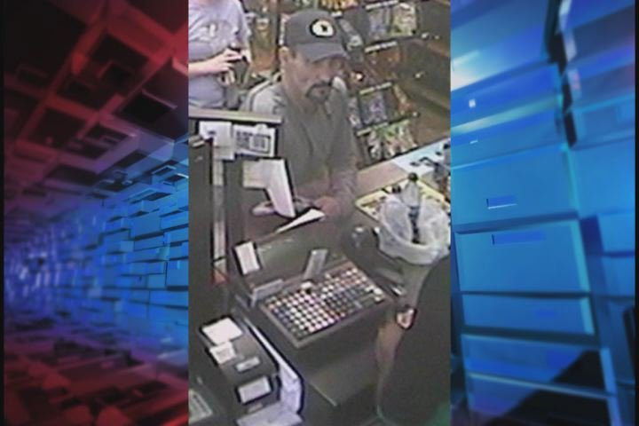 Deputies said this man stole a credit card and used it at a gas station. (Source: Richmond Co. Sheriff's Office)
