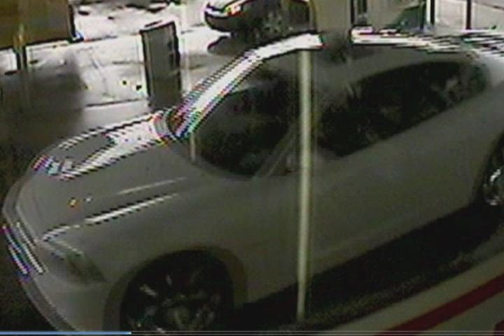 The man wanted for stealing a credit card was seen in this vehicle, deputies said. (Source: Richmond Co. Sheriff's Office)