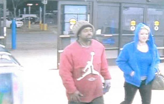 Deputies said this man and woman made purchases using a stolen credit card. (Source: Richmond Co. Sheriff's Office)