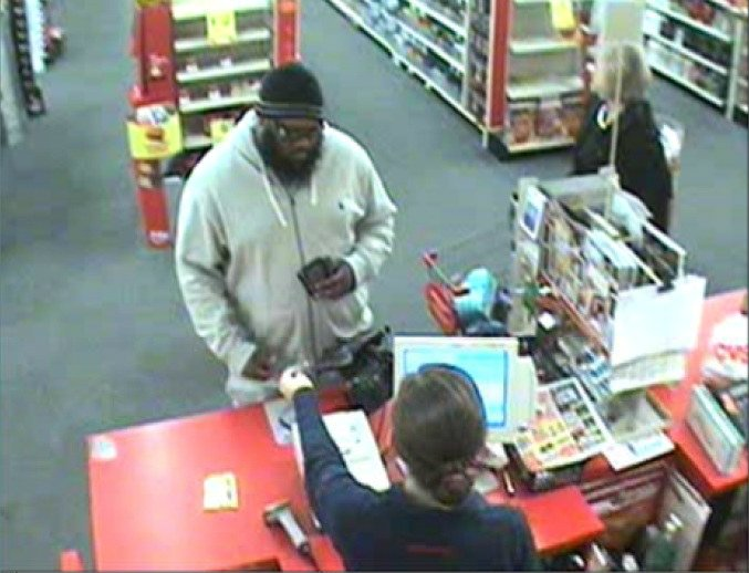 Surveillance photo from the CVS on Edgefield Road (Source: North Augusta Department of Public Safety)