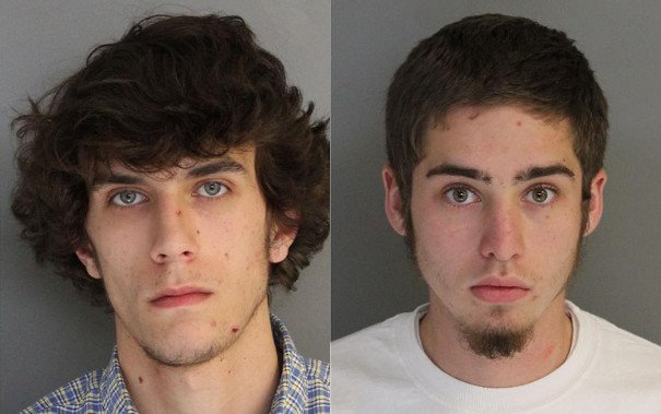 Jeffrey Alec Forrester and Austin Dean Thames (Source: Aiken Department of Public Safety)