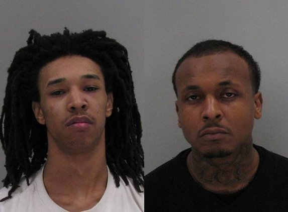 Marquese Parrish and Darrell Hill (Source: Richmond Co. Sheriff's Office)