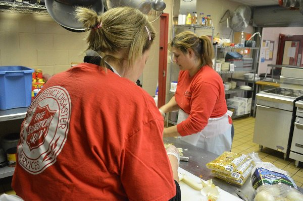 Meals are being prepared at the Salvation Army's Center of Hope. (Source: Salvation Army of Augusta)