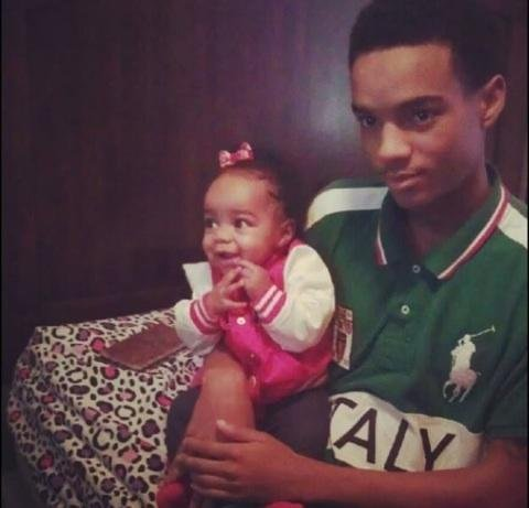 Montravious McNair and his niece