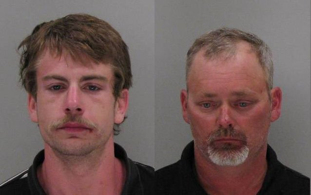 Christopher Oexner and Robert Cave (Source: Richmond Co. Sheriff's Office)