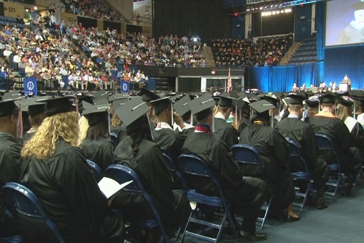 A file photo from GRU's spring 2013 graduation. (Source: WFXG)