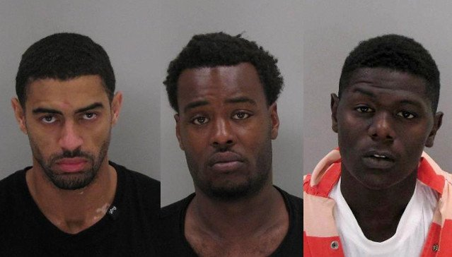 John Lee Scarboro, Ricardo Jones and Bartrell Griffin (Source: Richmond Co. Sheriff's Office)
