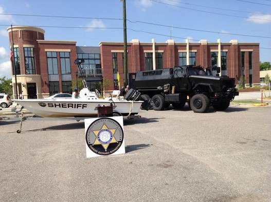 The Richmond County Sheriff's Office acquired more than $3.4 million in new equipment. (Source: WFXG)