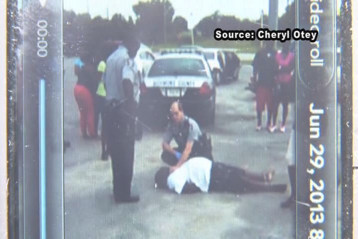George Harvey died in June 2013 after deputies shocked him several times with a stun gun. The incident was captured on video. (Source: Cheryl Otey)