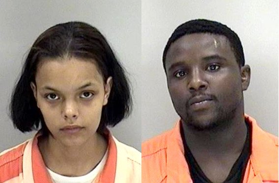 Alexis Marie Blowers and Emmanual Jarnell Smith were arrested Monday in connection with a shooting on Agerton Lane. (Source: Richmond Co. Sheriff's Office)