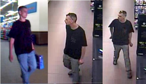 This man is suspected of committing financial transaction card fraud. (Source: Richmond Co. Sheriff's Office)