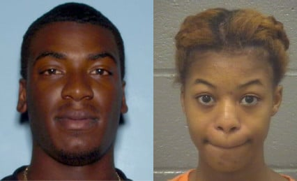 Trelon Baker,20, and Makayla Gabrielle Ivey, 17, were arrested in connection with an attempted armed robbery and shooting at Westwood Club apartments. (Source: Columbia Co. Sheriff's Office)