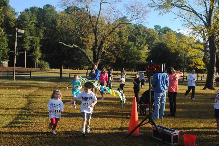 2013 Kids' Run Marathon (Source: Aiken Parks and Recreation)