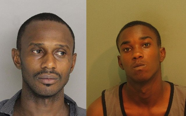 Justin Cooper, 26, and Tobias Thomas, 16, were arrested in connection with the home invasion. (Source: Aiken Dept. of Public Safety)