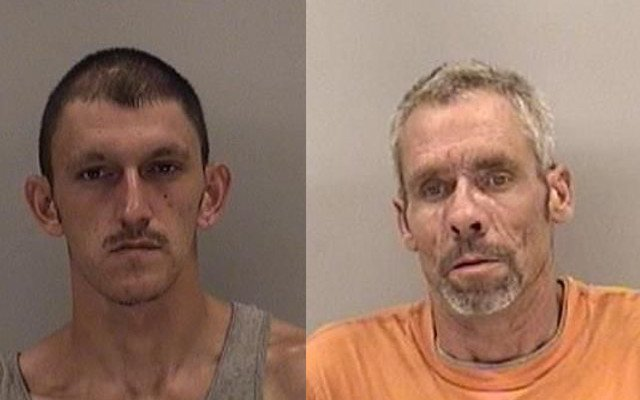 Justin Bossick and Clifford Palmer are each charged with running a chop shop. (Source: Richmond Co. Sheriff's Office)