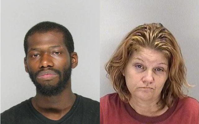 Russell Wolfe and Tonya Lewis are each charged with felony first-degree arson to a vehicle. (Source: Richmond Co. Sheriff's Office)